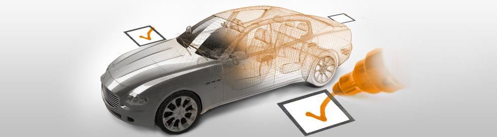 Automobilio patikros istorija Audatex programoje